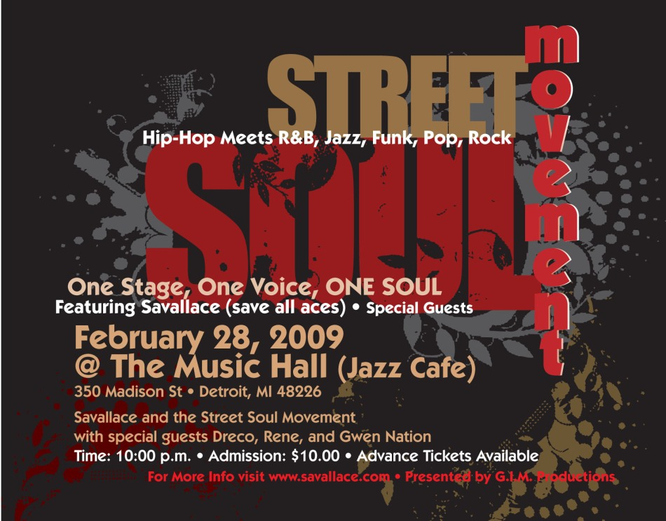 Savallace and the Street Soul Movement