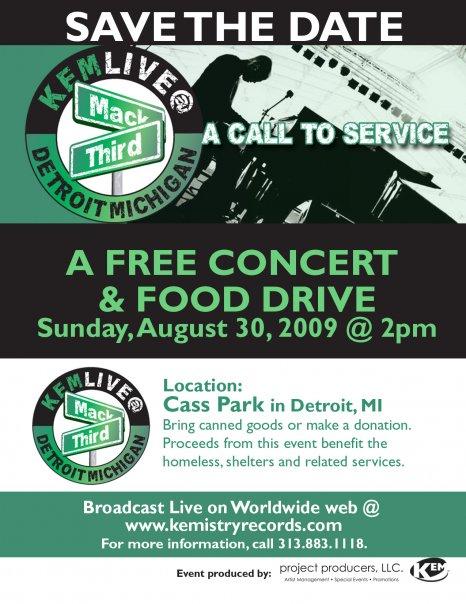 Kem's free concert